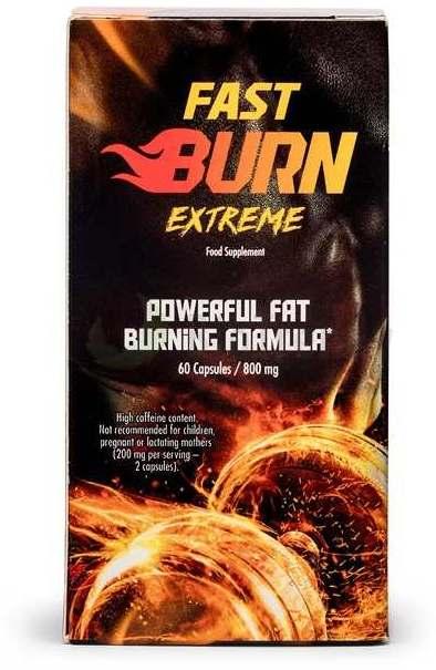 spalacz tłuszczu fast burn extreme