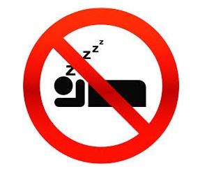 brak snu szkodzi