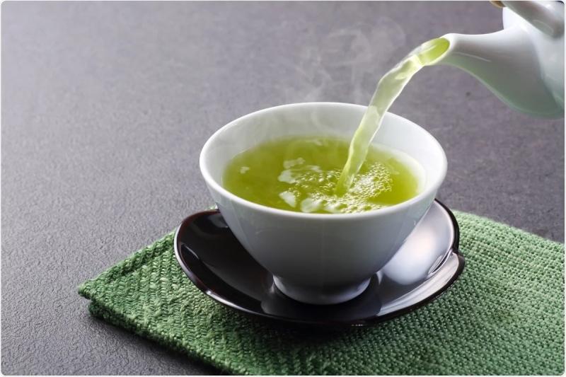 zieolna herbata ma właściwości odchudzające